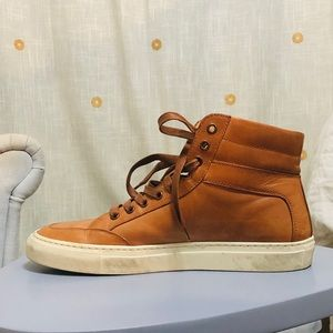 4b6267550ccc98 Koio Handcrafted Italian Leather High-Top Sneakers